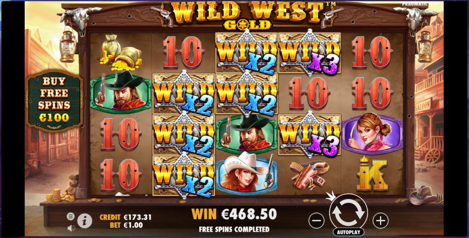 Wild West Gold great Bonus round! - Sharecasinowins